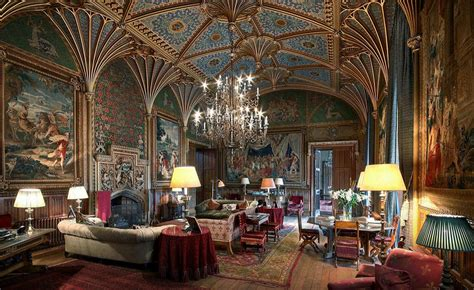 eastnor the gothic drawing room eastnor castle herefordshire