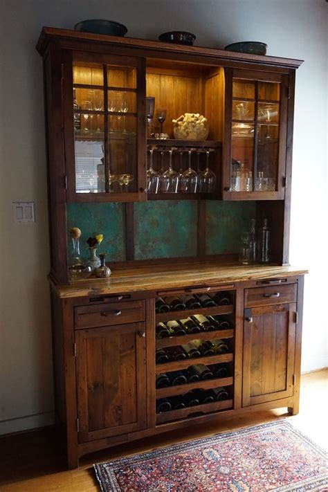kitchen buffet hutch kitchen hutch with wine rack cosmecol