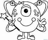 Alien Coloring Pages Cute Space Jedi Female Printable Drawing Monster Turtle Shell Nice Print Wecoloringpage Getdrawings Getcolorings Creature Face Cut sketch template