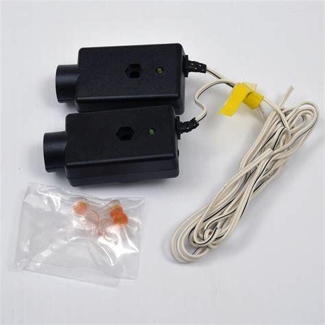 garage door sensor light liftmaster 41a4373a garage door opener safety beams