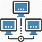 Icon Network Computer Lan Internet Link Communication