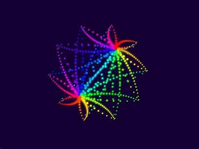 Star Rainbow 3d Dribbble Hypnotic Code