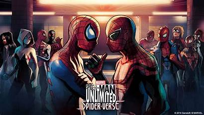 Spider Verse Wallpapers Marvel Into Unlimited Explained