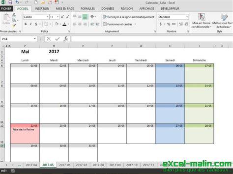 modèle planning excel gratuit calendrier mensuel excel modifiable et gratuit excel