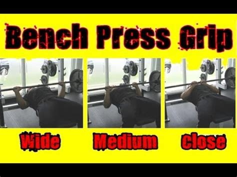 Bench Press Hand Width best bench press grip how wide should you grab the bar