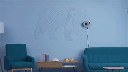 Scribit Robot Thisiscolossal Programmable Draws Purpose Walls