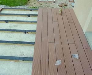 faire poser une terrasse en bois composite vers marseille With comment faire une terrasse en composite