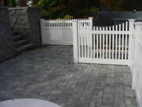 Vinyl Privacy Fence Ideas Patio
