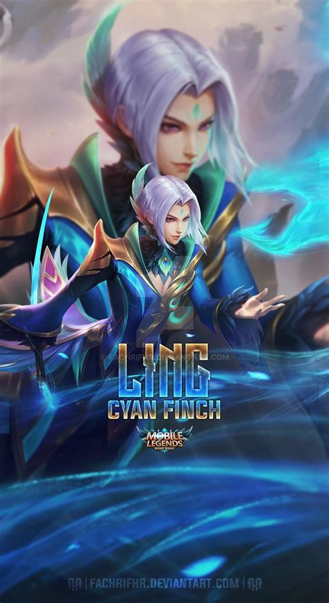 wallpaper ling mobile legends anime wallpaper hd