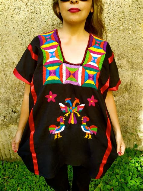 4XL. Mexican Huipil. Handmade Huipil. Mexican Blouse ...