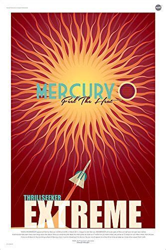 nasa mercury travel poster space tourism travel posters
