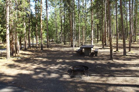 madison campground map pictures  video yellowstone