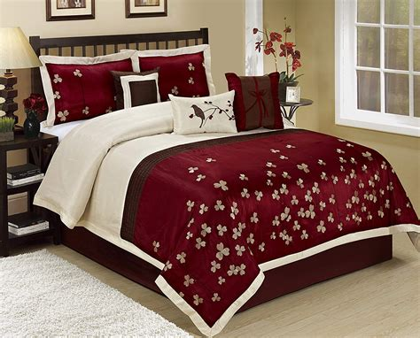 burgundy and black comforter set burgundy black bedding sets ease bedding with style