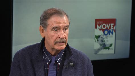 Former Mexican President Vicente Fox: