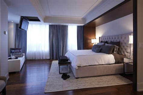 st lawrence market condo master bedroom modern