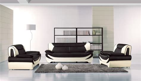 black and white leather sofa set home design living luxury black leather room furniture