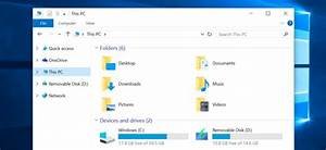 How to remove the folders from this pc on windows 10 for Download documents for windows