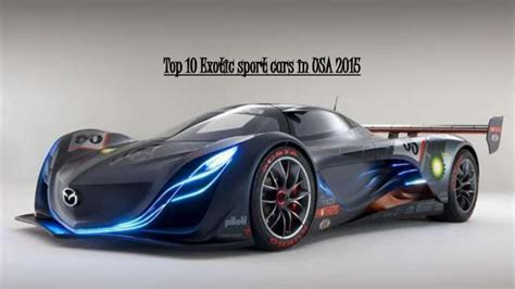 Top 10 Exotic Sport Cars In Usa 2015
