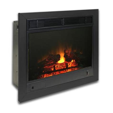 23 electric fireplace insert paramount fireplace insert 23 inch home depot canada