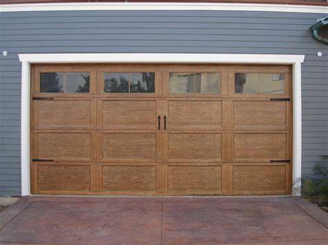 The Best Material To Make Garage Door Designwallscom