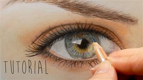 tutorial   draw color  realistic eye  eyebrow