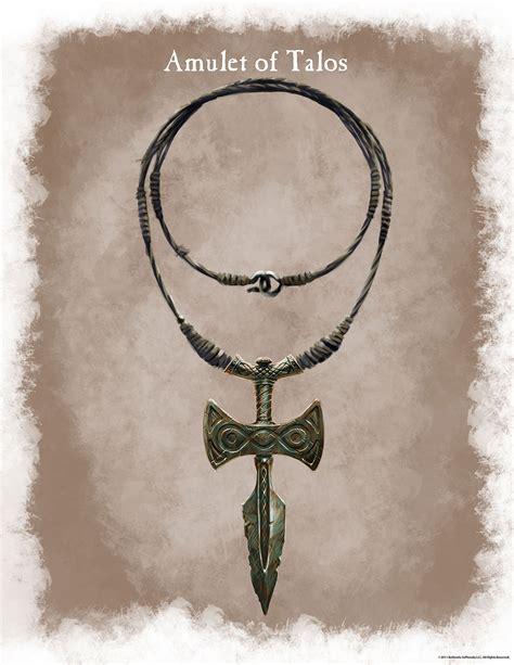 Amulet Of Talos The Elder Scrolls Wiki