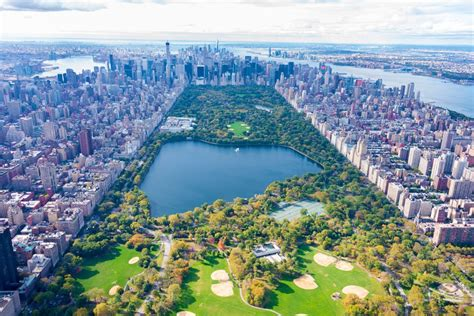 Central Park, The Most Famous Park In New York, United