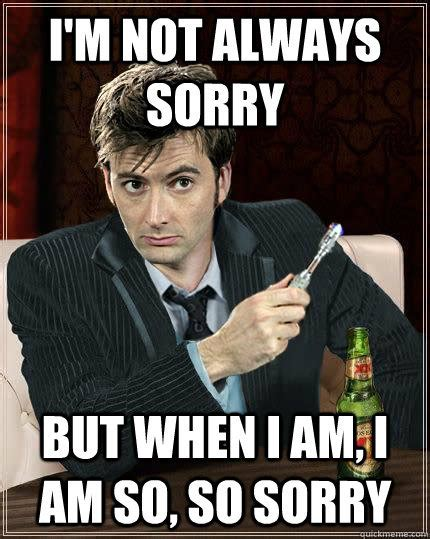 Doctor Who Memes - lol doctor who meme david tennant television calmrad