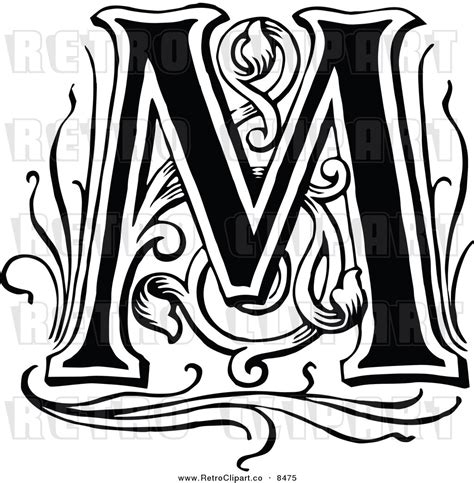 letter m black and white letter m black and white clipart clipart suggest