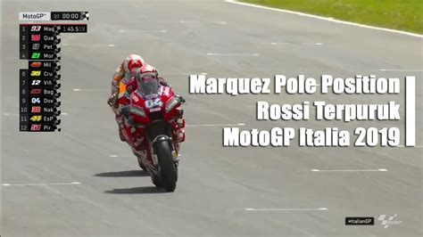 highlight hasil kualifikasi marquez pole position motogp