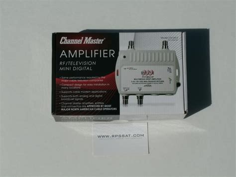 channel master cm  cable tv antenna distribution