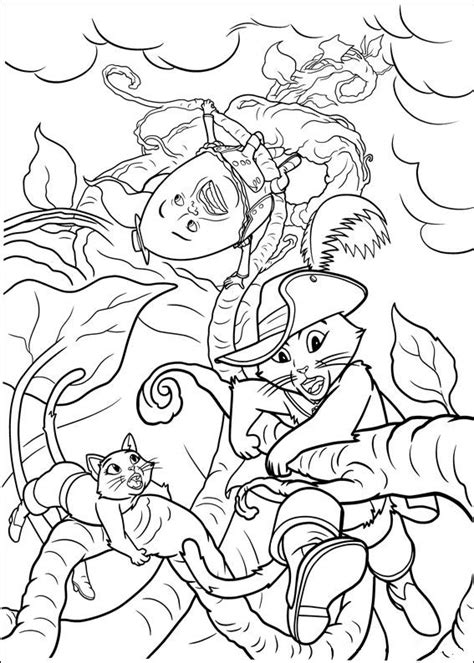 puss  boots coloring pages    print