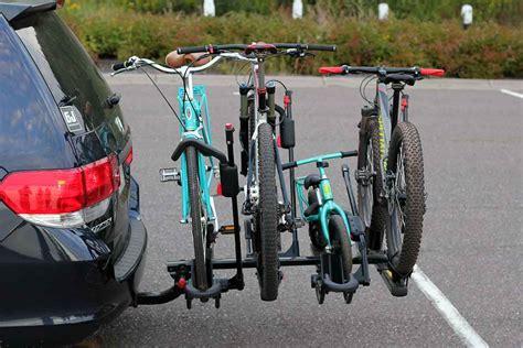 bike hitch bikes bicycle rack racks mountain children minivan four kid gears lu modification cycling mount exterior yakima