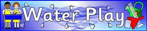 Free Images Water Play Display Banner Sb3923 Sparklebox