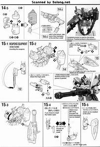 Mg Gundam Heavyarms Ew Ver English Manual  U0026 Color Guide