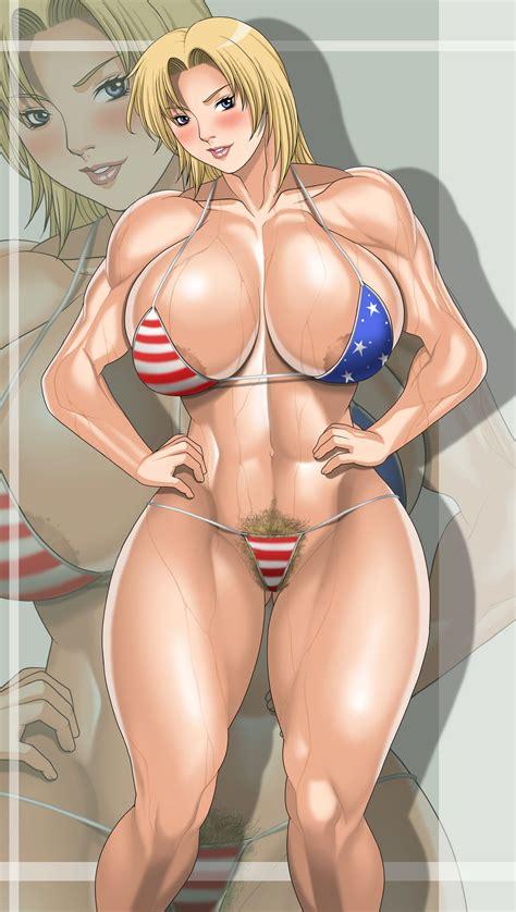 rule 34 abs america american flag bikini american flag swimsuit areola slip bikini blonde hair