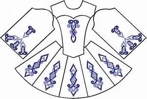 Lowland Design Irish Dance Dresses  Another Embroidery Set For Irish Dance Dresses
