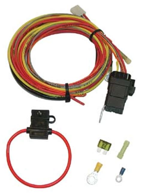 Spal Electric Fan Toggle Relay Wiring Mustangs Plus