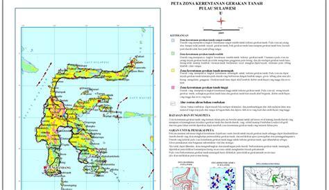daerah rawan pergerakan tanah  indonesia timur