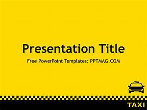 Free Taxi Powerpoint Template