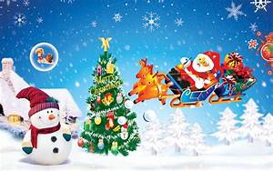 Cute Merry Christmas Hd Wallpaper | Collection 8+ Wallpapers
