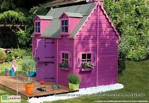 Maison Enfant Bois : maison enfant bois louveteau maison enfant bois louveteau jardipolys ~ Teatrodelosmanantiales.com Idées de Décoration