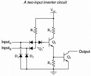 ttl nand and and gates logic gates electronics textbook With circuit logic gates