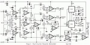 decoder circuit for small surround sound eeweb community With passive surround