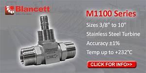 Blancett Meters Help Hydraulic Fracturing Companies