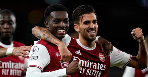 Arsenal player ratings as late Eddie Nketiah strike ...