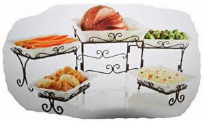 5 Buffet Server Stoneware Serving Dishes