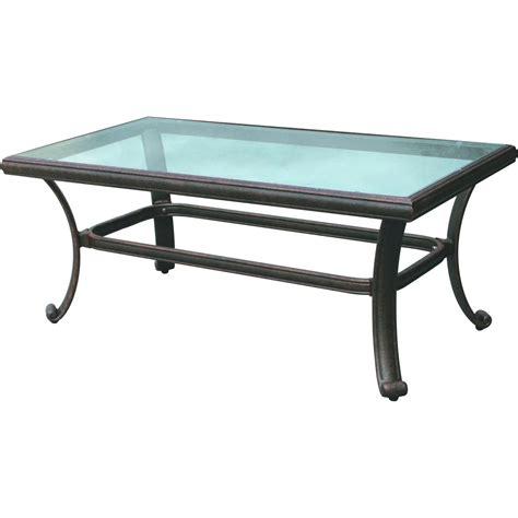 outdoor glass patio table outdoor patio coffee table on the garden terrace