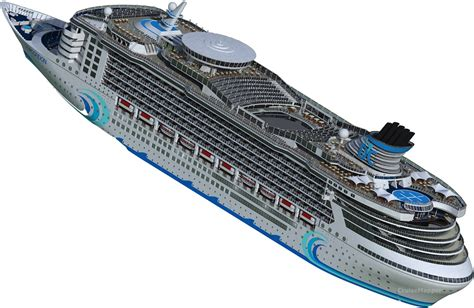 List Of The Largest Cruise Ships In The World | CruiseMapper