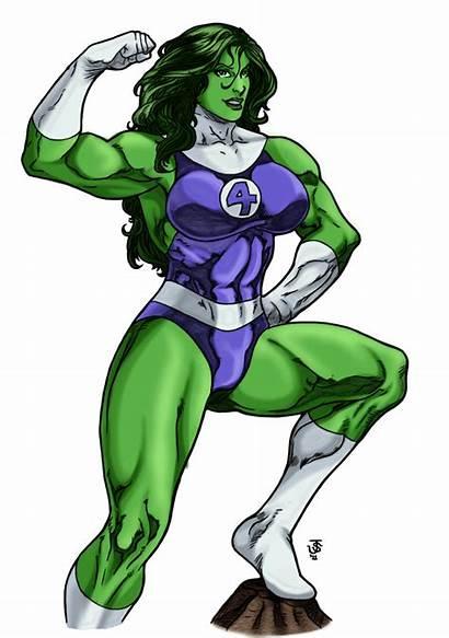 Hulk She Marvel Victory Pose Deviantart Transparent